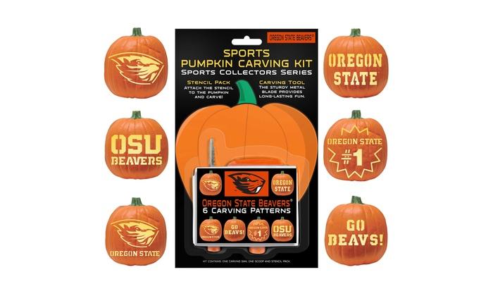 NCAA Pumpkin Carving Kit 6 Pk
