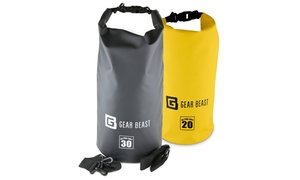 Gear Beast Roll-Top Dry Bag Compression Sack (10-, 20- or 30-Liter)