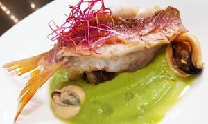 Ristorante Konnubio: Menu gourmet di mare con calice o bottiglia di vino per 2 persone al Ristorante Konnubio ad Arenzano (sconto fino a 60%)