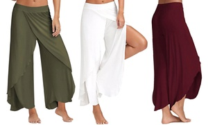 (Mode)  Pantalon de yoga coupe ample -25% réduction