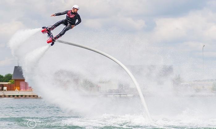 Flyboard Vlaanderen - Domein Vijverhof: Flyboarding pour 1, 2 ou 4 personnes chez Flyboard Vlaanderen