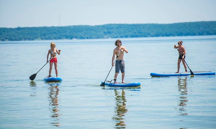 Utowana Beach Paddle Boards - Utowana Beach Paddle Boards: $40 Worth of Watersports-Equipment Rentalfrom Utowana Beach Paddle Boards