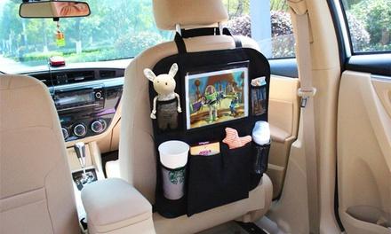 1 o 2 organizadores para asiento de coche con soporte de tableta