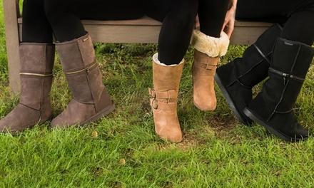 Redfoot Lammfell-Boots (Statt: 79,90 € Jetzt: 59,90 €)
