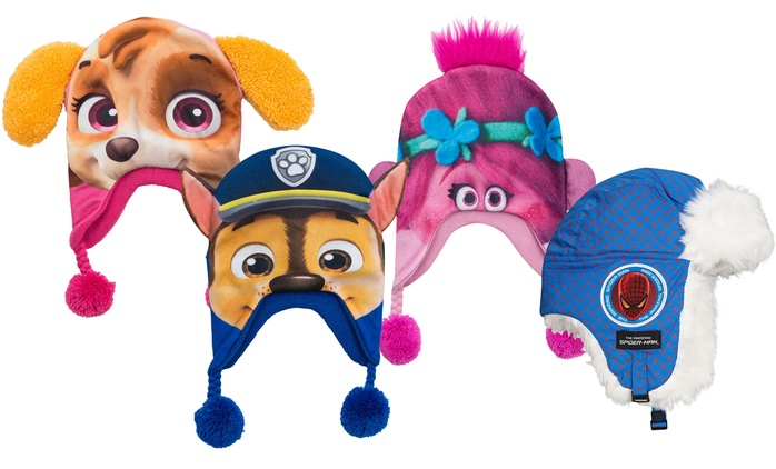 Kid's Character Novelty Hats from £4.99