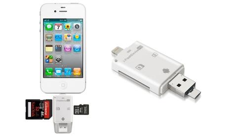 Lector de tarjetas para dispositivos IOS & Android con USB de la marca Imperii
