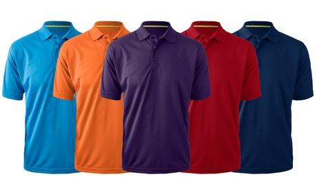 Zorrel Men's Technicore Classic Performance Polo (2-Pack)