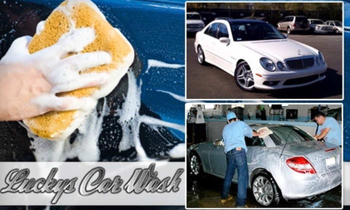 Lucky's Hand Car Wash and Detailing - Skokie: $23 for a Wash and Wax ($45 Value) or $99 for a Complete Detailing Service (up to $200 Value) from Lucky's Hand Car Wash and Detailing in Skokie