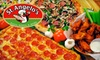 St. Angelo's Pizza - Multiple Locations: $10 for $25 Worth of Pizza, Wings, and More at St. Angelo's Pizza in Smyrna