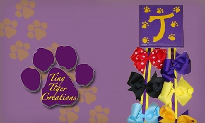 Tiny Tiger Creations: $18 for $40 Worth of Customizable Children's Décor from Tiny Tiger Creations