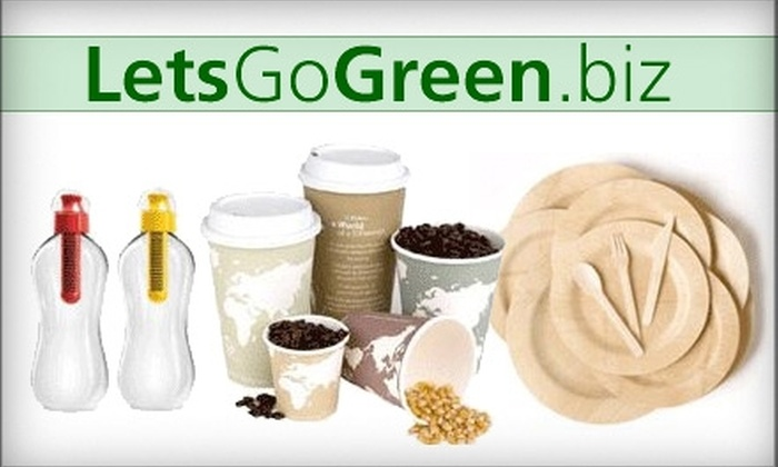 LetsGoGreen.biz: $10 for $20 Worth of Merchandise from LetsGoGreen.biz