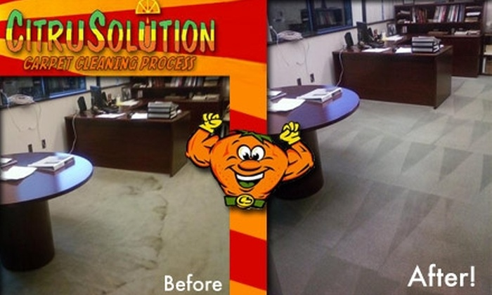 CitruSolution - Columbus: $15 for a One-Room Carpet Cleaning from CitruSolution
