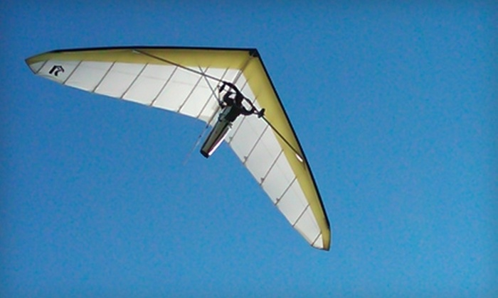 Mountain Wings - Ellenville: $70 for a Half-Weekday Hang-Gliding Lesson from Mountain Wings in Ellenville