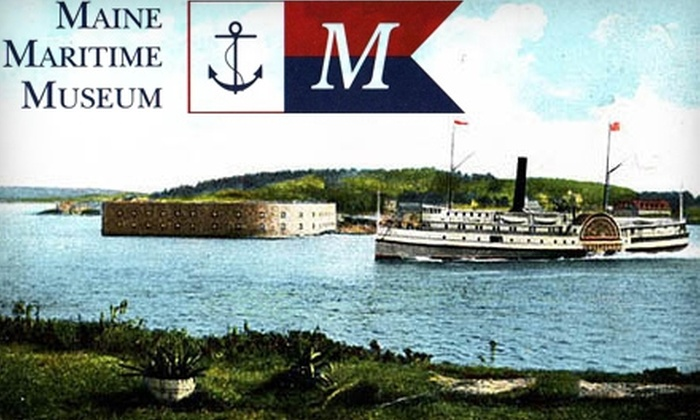 Maine Maritime Museum - Bath: $12 for Two Adult Admission Tickets ($24 Value) to Maine Maritime Museum in Bath