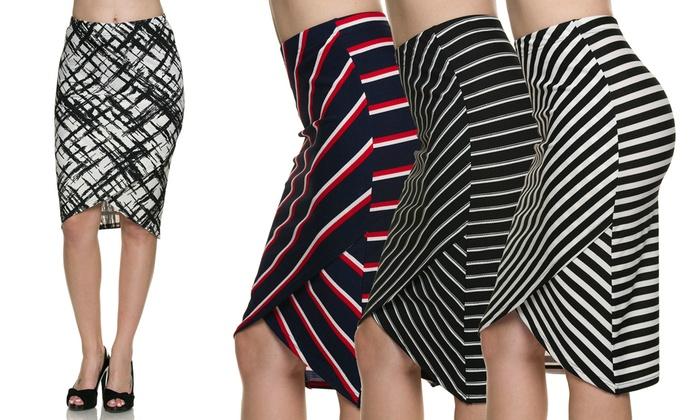 Envelope Style Skirt
