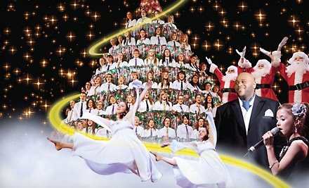 Edmonton Singing Christmas Tree presented by Trixstar Productions on Sun., Dec. 18 at 7PM: Second Balcony Side - Edmonton Singing Christmas Tree in Edmonton