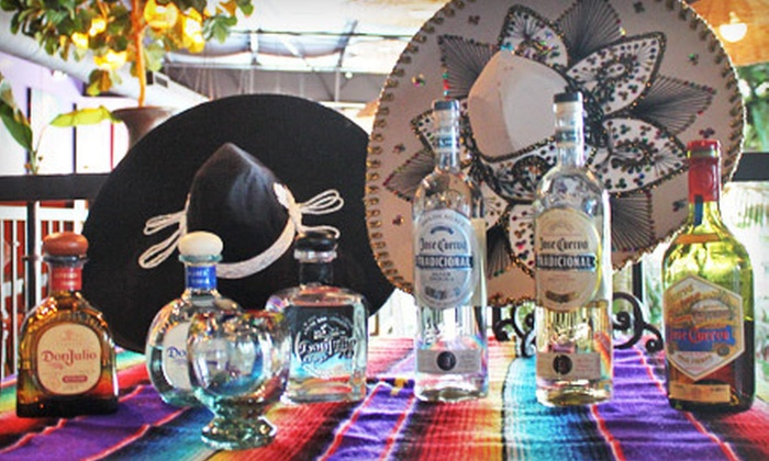 No Mas! Cantina - Castleberry Hill: Four-Course Tequila Tasting with Pairings for One or Four at No Mas! Cantina (Up to 68% Off)