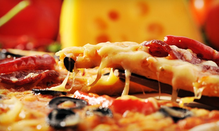 I Love Pizza - Multiple Locations: $10 for $20 Worth of Pizza and Coffee Drinks at I Love Pizza