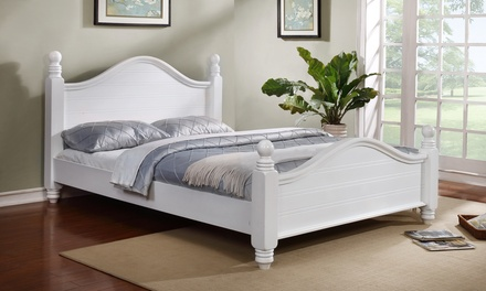 St Tropez Solid Wood Bed Frame