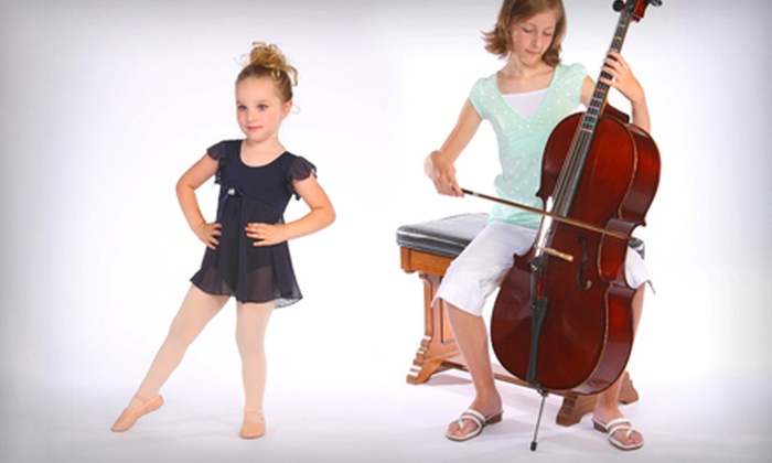 Dimensions School of Dance and Music - Albuquerque: $49 for $100 Toward Kids' and Adults' Classes at Dimensions School of Dance and Music