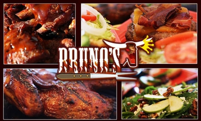 Bruno's Barbecue - Scotts Valley: $7 for $15 Worth of Smoky Sustenance at Bruno's Barbecue
