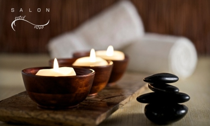 Salon Entré Nous - Southborough: $25 for a Hot-Stone Mani-Pedi at Salon Entré Nous in Fayville ($60 Value)