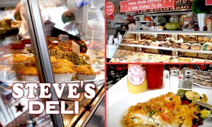 Steve's Deli - Near North Side: $10 for $25 Worth of Soups, Salads, Overstuffed Sandwiches, and More at Steve's Deli
