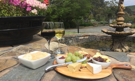 $25 for Cheese Platter and House Wine for Two at Talunga Estate Up to $55 Value