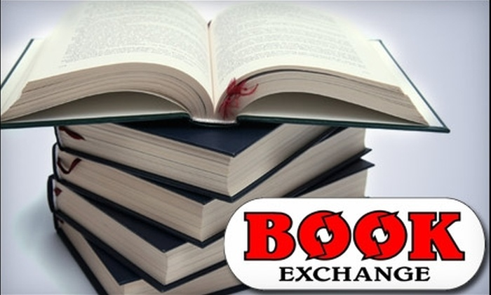 Book Exchange - Suburban Acres: $5 for $15 Worth of Used Books, DVDs, VHS, and CDs at Book Exchange