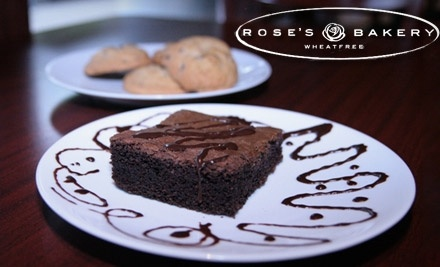 $10 Groupon to Rose's Wheat-Free Bakery and Cafe - Rose's Wheat-Free Bakery and Cafe in Evanston