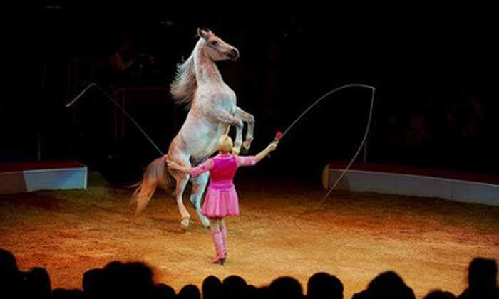 Windy City Circus - Near North Side: $42 for a Windy City Circus Outing for Two with Mezzanine Seats and Popcorn on February 21–23 ($87.50 Value)