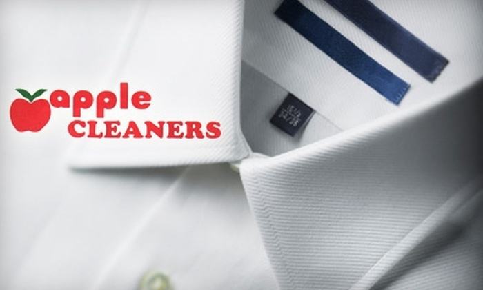 Apple Cleaners - Multiple Locations: $12 for $25 Worth of Dry-Cleaning Services at Apple Cleaners