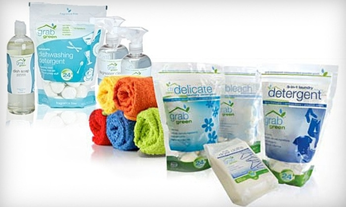 GrabGreen: $10 for $20 Worth of Eco-Friendly Cleaning Products from GrabGreen