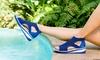 JSport by Jambu Nadine Knit Comfort Sandal (Up to Size 11)