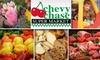 60% Off at Chevy Chase Supermarket