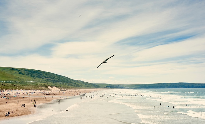 Woolacombe: 2, 3, 4, 5 or 7 Nights in Surf Cabin for up to Four at Europa Park