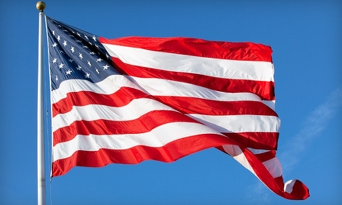 The Flag Factory - Castle Shannon: $15 for $30 Worth of U.S. Flags, Flag Sets, and In-Ground Flagpoles at the Flag Factory