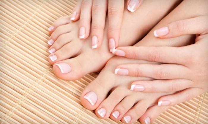 Merle Norman - Albert Park: $40 for a Full Mani-Pedi or $25 for $50 Worth of Waxing Services at Merle Norman
