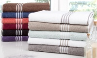 Lavish Home Rio 100% Egyptian Cotton Towel Set (8-Piece)