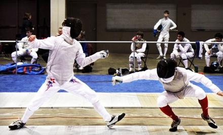 Four Fencing Classes - Lion Heart Fencing Academy in La Mesa