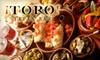 Toro Tapas Bar - Bryant: $20 for $40 Worth of Spanish Fare and Drinks at Toro Tapas Bar