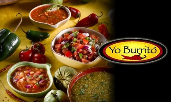 Yo Burrito - Columbia: $7 for $15 Worth of Mexican Fare and Drinks at Yo Burrito