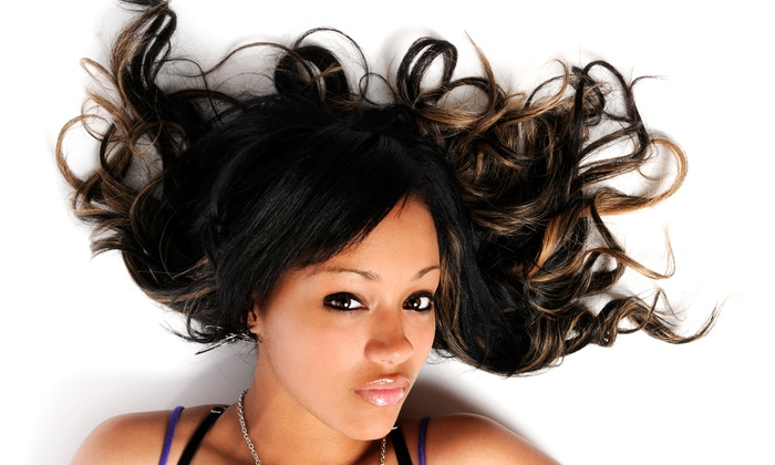 Lady Shae's Salon - Greensboro: Precision Haircut With Optional Relaxer or Conditioner and Protein Treatment at Lady Shae's Salon (Up to 50% Off)