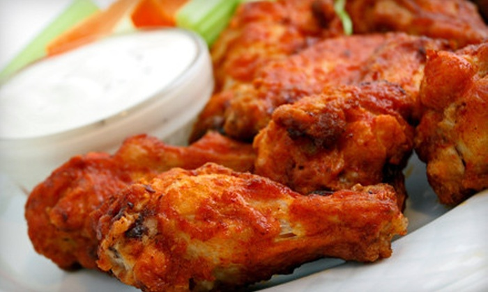 WG's Chicken Wings - Northwest Columbia: Wing Meal for Two or Four with Entrees, Wings, and Beer at WG's Chicken Wings (Up to 54% Off)