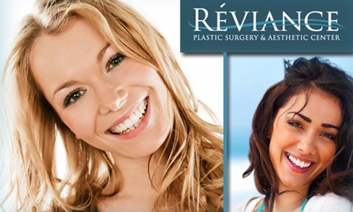 Reviance Plastic Surgery & Aesthetic Center - Multiple Locations: $59 for a Microdermabrasion and Facial Infusion Treatment at Reviance Plastic Surgery & Aesthetic Center ($170 Value)