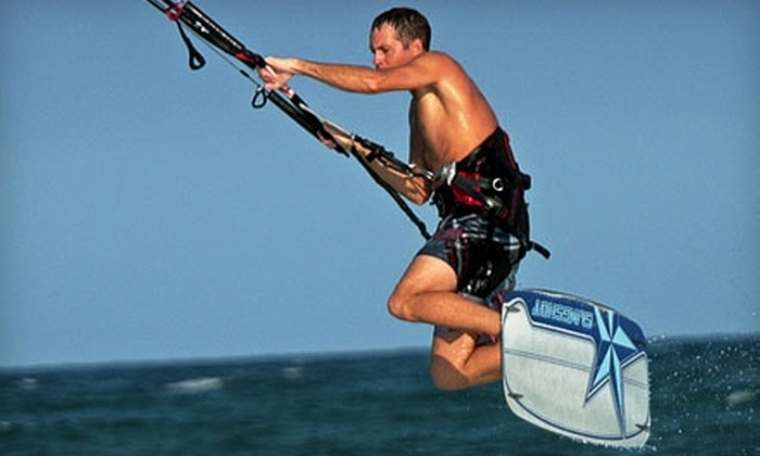 Burn Boardsports - East Daytona: $35 for a One-Hour Introductory Kiteboarding Lesson from Burn Boardsports ($70 Value)