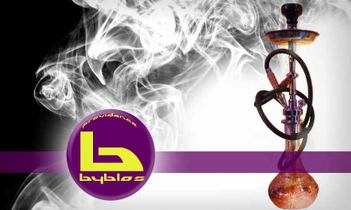 Providence Byblos - College Hill: $20 for $40 Worth of Lebanese Cuisine, Drinks, and Hookah at Providence Byblos