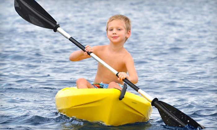 Treasure Coast Paddle - Jensen Beach: Half-Day Paddleboard or Kayak Rental for One or Two from Treasure Coast Paddle in Jensen Beach (Up to Half Off)