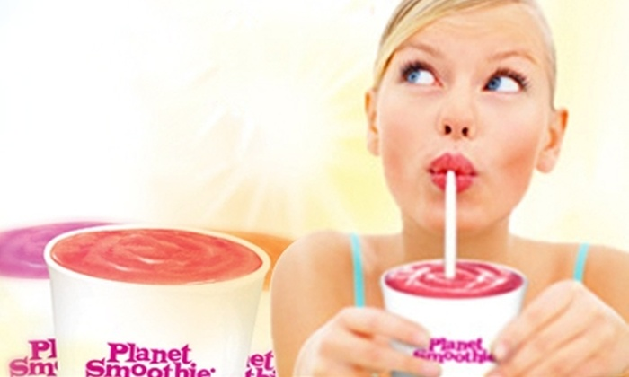 Planet Smoothie - Baldwin Park: $5 for Two Smoothies at Planet Smoothie ($9.56 value)