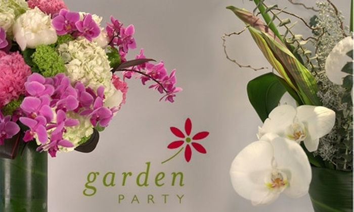 Garden Party Flowers - Kitsilano: $20 for $50 Worth of Flowers from Garden Party Flowers